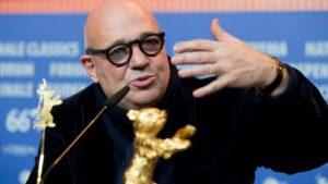 """Il regista Francesco Rosi, vincitore dell'orso d'oro con """"Fuocoammare"""""""