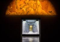 Una installazione di Billl Viola a Palazzo Strozzi
