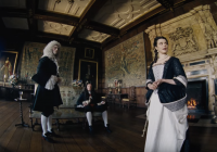 "Rachel Weisz in una scena di ""The Favourite""."
