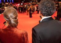 Mariette Rissenbeek e Carlo Chatrian accolgono gli ospiti della serata inaugurale